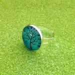 Bague-Cabochon-Arbre-Turquoise