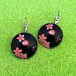 Boucles-d-Oreilles-Cabochon-Sakura-Noir