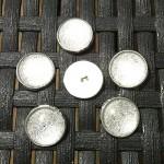 Boutons-Cabochon-Silver-Glitter