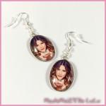 Boucles d oreilles Cabochon Violetta 5 - 18x25